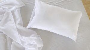 Uso de colchão e travesseiro confortável